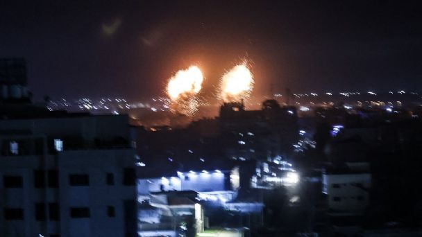 La paz terminó! Israel rompe tregua y lanza bombardeo sobre la Franja de Gaza: VIDEO   Heraldo USA