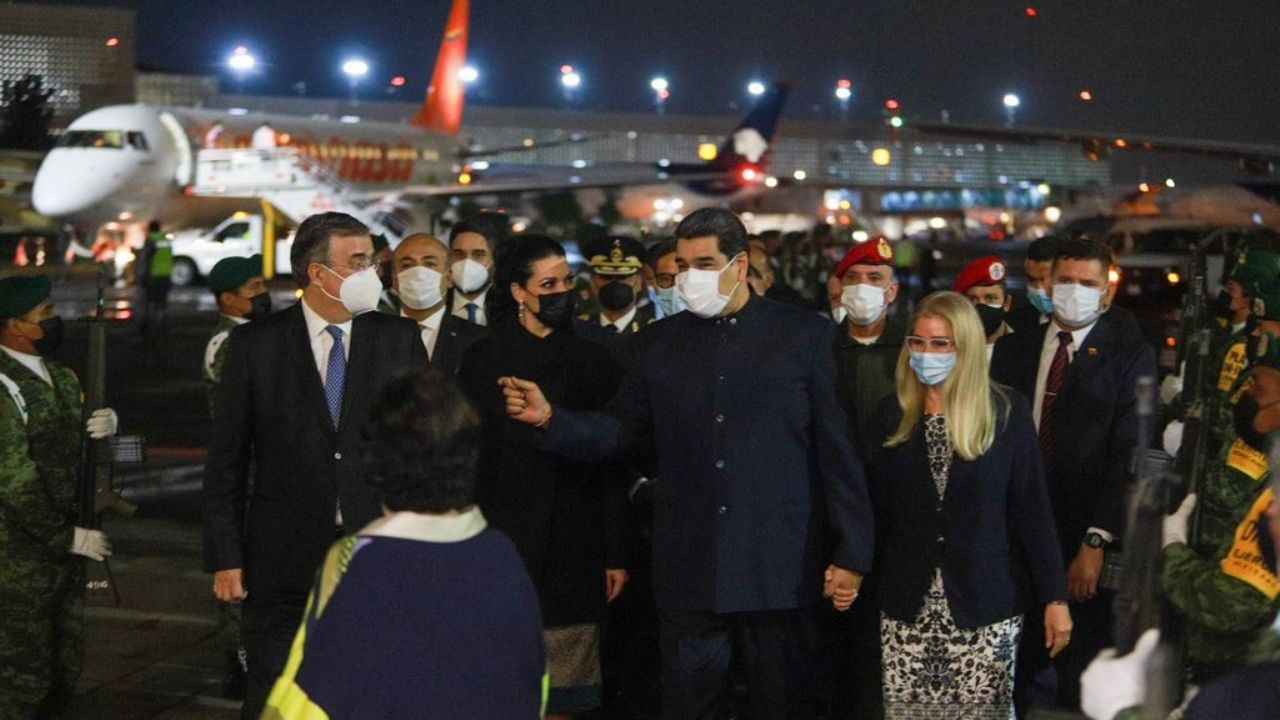 Nicolás Maduro llega de sorpresa a México para cumbre de la CELAC   Heraldo USA